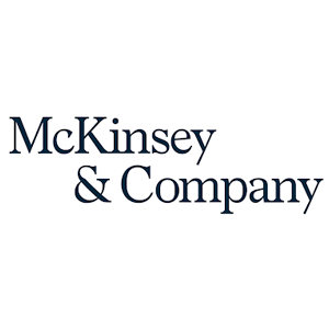 Logo of McKinsey and Co.
